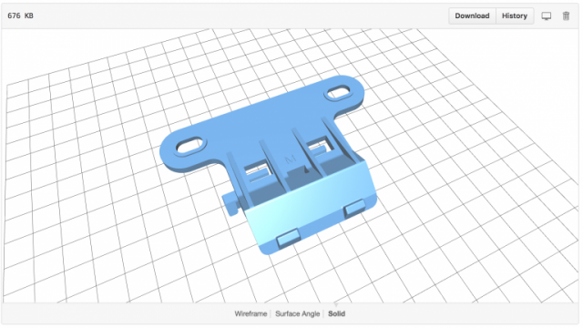 Open Source Versions Of Ride 1 Frame Mount And Housing 3d